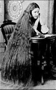 The Long tresses of the Vrill Women were said to facilitate communication with extra-terrestrial entities